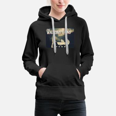 The Walking Dad Zwillinge The Walking Twins - Frauen Premium Hoodie