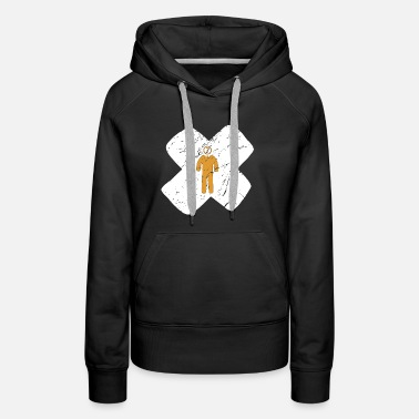 Student Question mark philosophy researcher cross gift - Women's Premium Hoodie