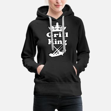 Grill Grill Koenig Grill Barbecue Grill - Women's Premium Hoodie