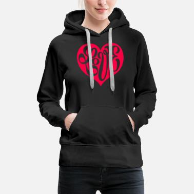 Illustrate Love - Women's Premium Hoodie