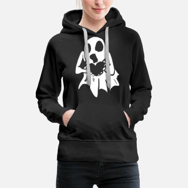 Apparition Apparition de fantômes d'Halloween - Sweat à capuche premium Femme