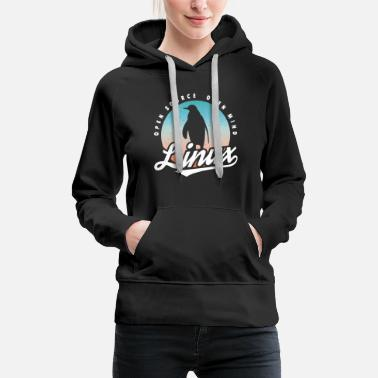 Linux Linux T-Shirt - A great gift. - Women's Premium Hoodie