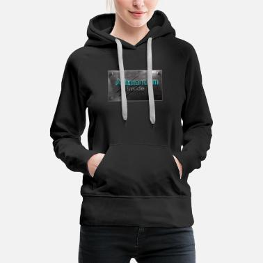 Adamantium, liquid metal superhero weapon claws - Women's Premium Hoodie