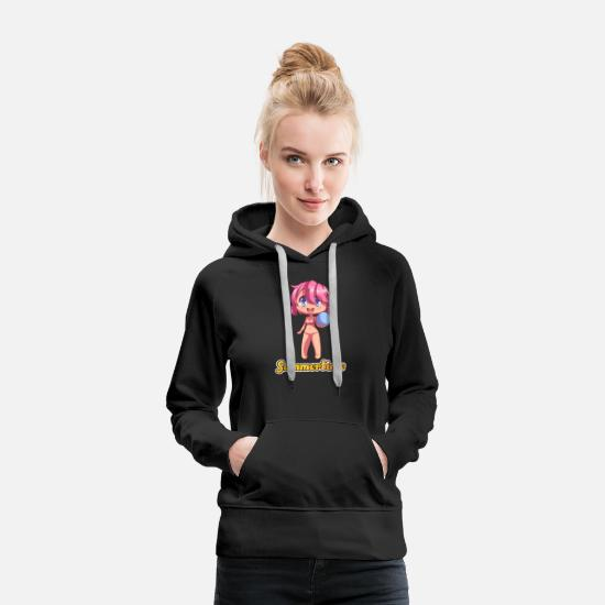 Birthday Hoodies & Sweatshirts - summertime - Women's Premium Hoodie black