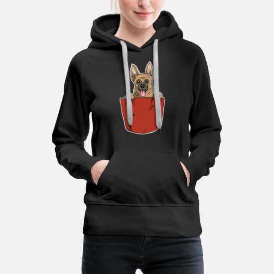 Cadeau de poche de coffre de chien de berger allemand Sweat