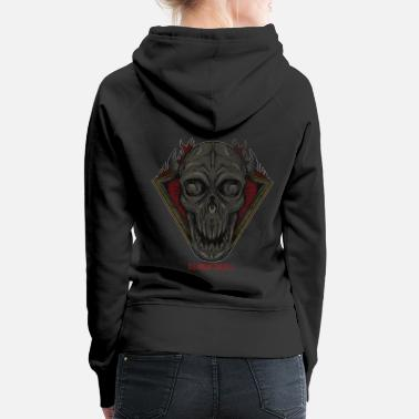 Witch Happy Halloween Dark Demon - Women's Premium Hoodie