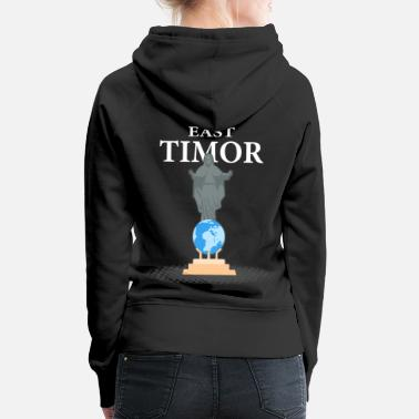 Island East Timor Dili holiday vacation gift - Women's Premium Hoodie
