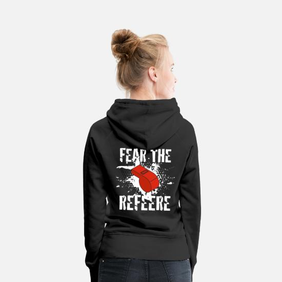 Gift Idea Hoodies & Sweatshirts - Referee referee - Women's Premium Hoodie black