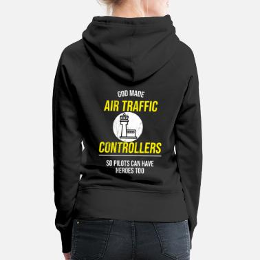 Air Air traffic control Tshirt - Air traffic - Women's Premium Hoodie