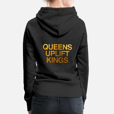 Afrocentricity Cute African American Afrocentric Quote Tee - Women's Premium Hoodie