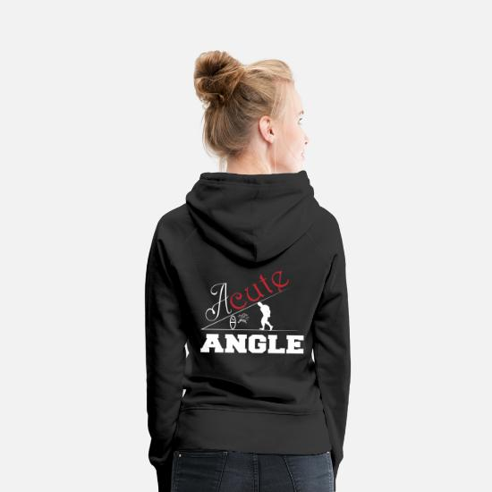 Maths Hoodies & Sweatshirts - A sweet angle math - Women's Premium Hoodie black