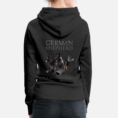 German German Shepherd Dog - Women's Premium Hoodie