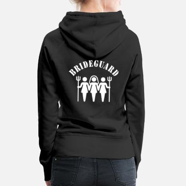 Hen Night Brideguard (hen night) - Frauen Premium Hoodie