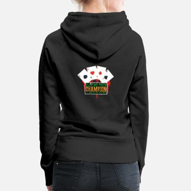 All time poker champion - Women's Premium Hoodie