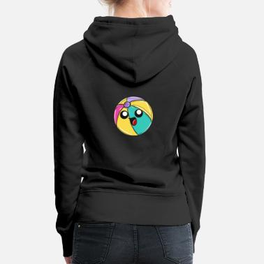Beach Volleyball beach ball - Women's Premium Hoodie