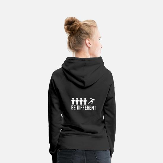 Triathlon Hoodies & Sweatshirts - To run - Women's Premium Hoodie black
