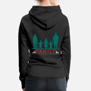 Family Party Family Family Day Family Party Family Gift - Women's Premium Hoodie