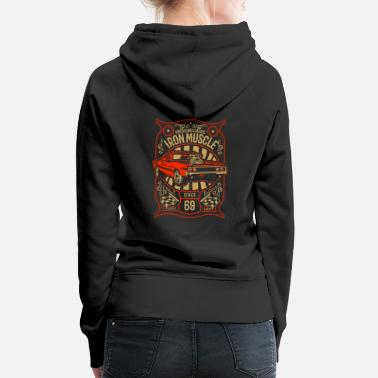Muscle Iron Muscle - American Classics - Women's Premium Hoodie