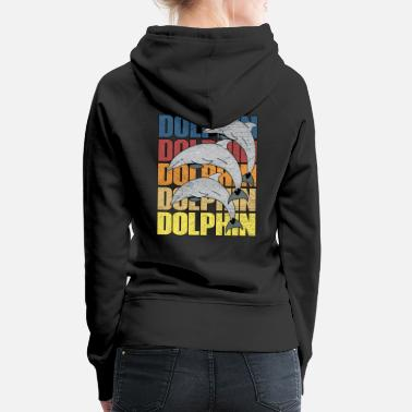 Dolphin Dolphins dolphin - Women's Premium Hoodie