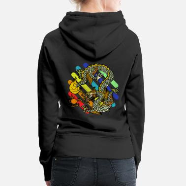 Mythical Beast mythical creatures - Women's Premium Hoodie