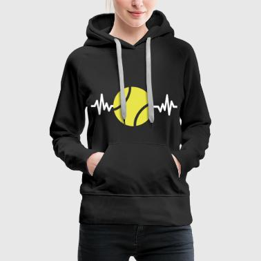 tennis is life - Frauen Premium Hoodie