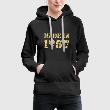 Made in 1957 - Frauen Premium Hoodie