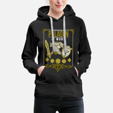 Roll The Dice Roleplay Paladin Dice Roleplay Gift - Women's Premium Hoodie