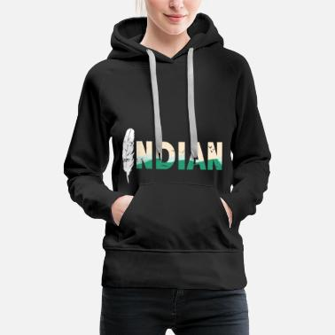 America Indian gift Carnival arrow Tippi - Women's Premium Hoodie
