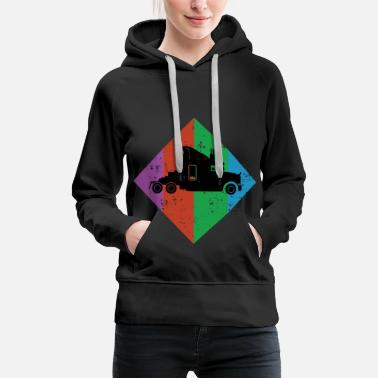 Parents Truck Gift Trucker Car Truck - Women's Premium Hoodie