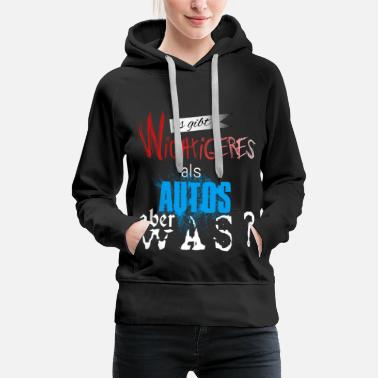 Car Mechanic There are more important things than cars but what? - Women's Premium Hoodie