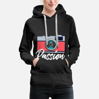 Children Camera Gift Photo Birthday Photographer - Women's Premium Hoodie