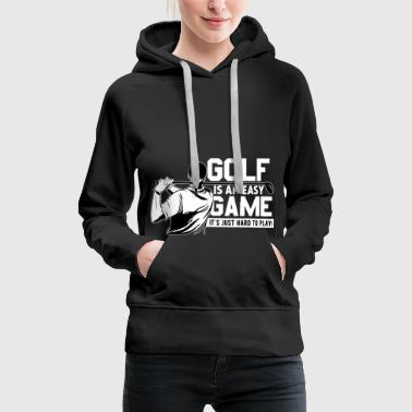 Even golf - Bluza damska Premium z kapturem