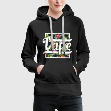 Vaping Vape steam e-cigarette - Women's Premium Hoodie