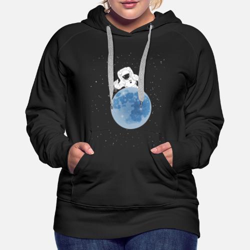 03f7bdfeb1d6 ausgefallene T-shirts Kosmos Frauen Premium Hoodie   Spreadshirt