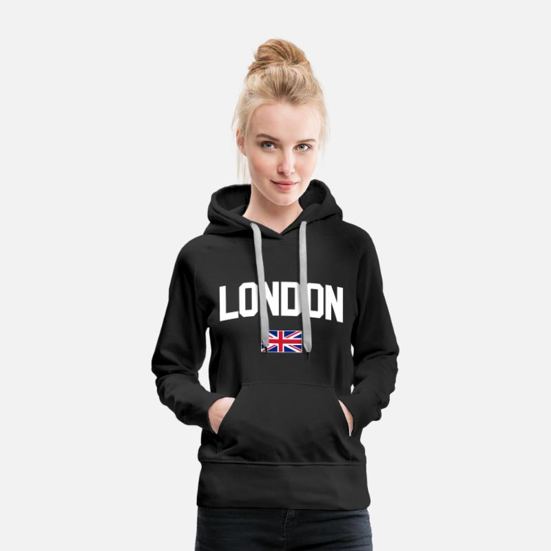 London Hoodies & Sweatshirts - London - Women's Premium Hoodie black