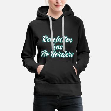 Rebellion This is the awesome revolutionary Shirt Those who - Women's Premium Hoodie