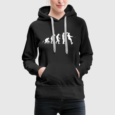 Wassershi Evolution Fun Shirt - Frauen Premium Hoodie