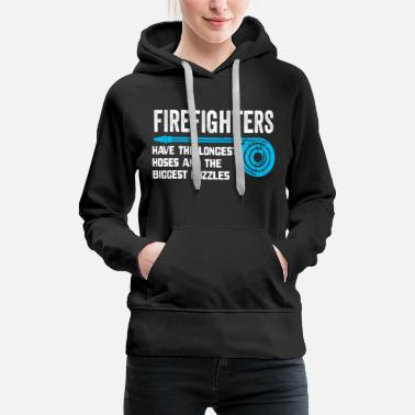 Firefighter Firefighter Fire Department - Women's Premium Hoodie