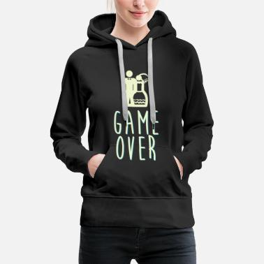 Marriage game over - Women's Premium Hoodie