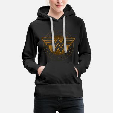 Wonder Woman DC Comics Wonder Woman Logo Étoilé - Sweat-shirt à capuche Premium pour femmes