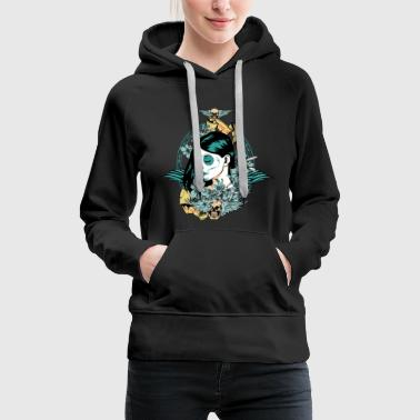 Young Madre green - Frauen Premium Hoodie