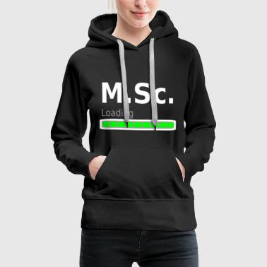 M.Sc. Master of Science University degree graduation idea - Women's Premium Hoodie