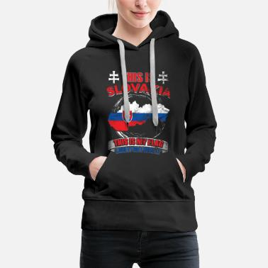 Identity This is Slovakia. This is my flag - Women's Premium Hoodie