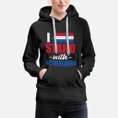 Netherlands National flag of Amsterdam Netherlande Holland - Women's Premium Hoodie