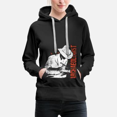 Building Archeologist science archeology history job - Women's Premium Hoodie