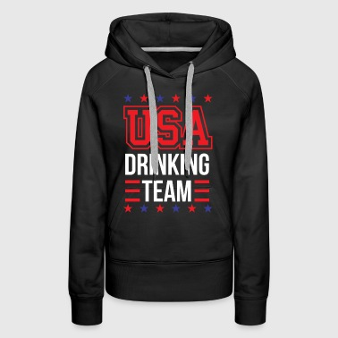 Bachelor Party USA Drinking Team Beer Party Wear Gift - Women's Premium Hoodie