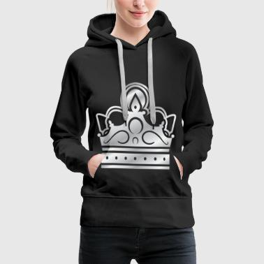 Silver Crown Silver Crowns Lifestyle King Prince - Women's Premium Hoodie