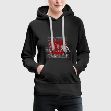 Jiu Jitsu Evolution Kampfsport Training Sportler - Frauen Premium Hoodie