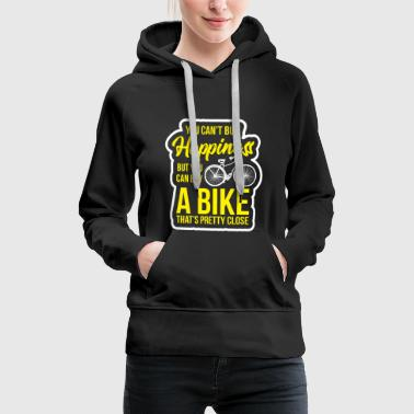 Joy Bicycle Sport Tour Idea Two-wheeler cycling - Women's Premium Hoodie