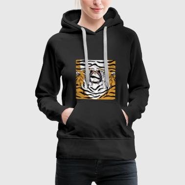 Deep jungle - tiger - Women's Premium Hoodie